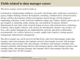top 5 data manager cover letter samples