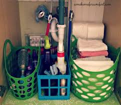 Organize Bathroom by How To Organize Under The Bathroom Sink And A Peek At My Guest