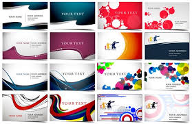 cards vector layouts