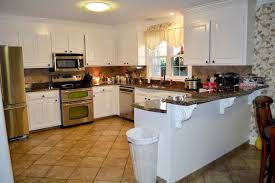 Kitchen Design With Bar U Shaped Kitchen Designs With Breakfast Bar Video And Photos