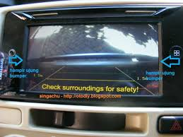 diy pasang kamera parkir di kijang innova
