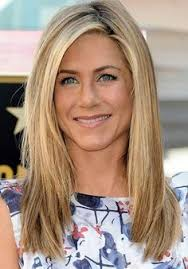 hairstyle for below the shoulder jennifer aniston to shill hair products for living proof living
