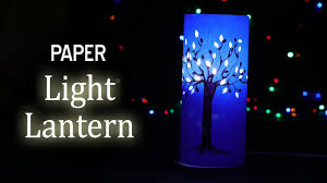 diy paper lantern craft for table corner how to make paper