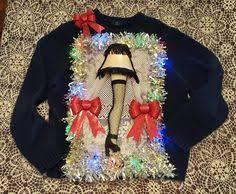 a christmas story leg l ugly christmas sweater ideas ugliest christmas sweaters holidays