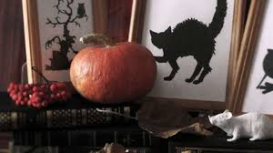 how to make halloween silhouette pictures diy home tutorial