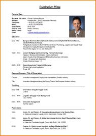 sle of curriculum vitae for job application pdf 8 curriculum vitae formal new tech timeline