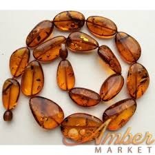 amber beads necklace images Big beads cognac baltic amber necklace JPG