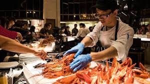 Casino With Lobster Buffet by Lobster Crazy China Sets Record For Us Crustacean Imports