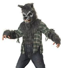 werewolf scary halloween costumes