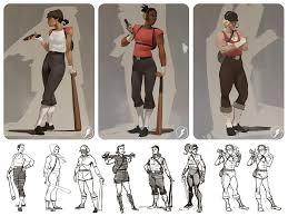 artstation teamfortress 2 alternate character designs drew wolf