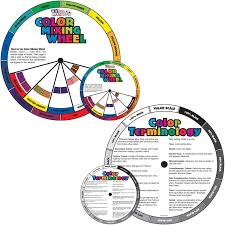 amazon com us art supply color mixing wheel combo pack contains