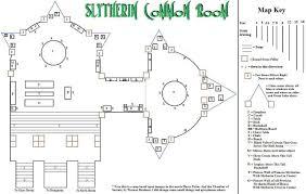 Malfoy Manor Floor Plan Slytheirn Common Room Map By Arien Drakon On Deviantart