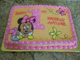 minnie mouse 1st birthday cake baby minnie mouse birthday cake a birthday cake