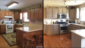 sherwin williams paint with oak cabinets before and after honey oak cabinets painted sherwin