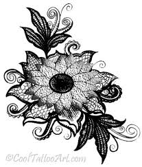 8 best french lace tattoo designs images on pinterest lace