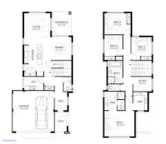 4 bed floor plans floor plans for a 4 bedroom house awesome double storey 4 bedroom