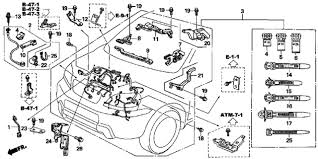 2007 honda pilot ex engine wire harness diagram