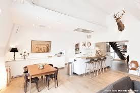 cuisine scandinave cuisine semi ouverte avec bar with contemporain cuisine décoration