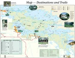 National Park Map Usa by Voyageurs National Park Camping Maps Maplets