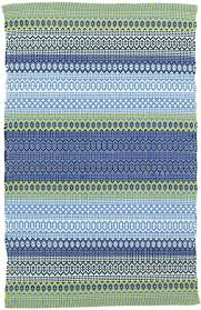 Albert And Dash Outdoor Rugs Dash And Albert Stripe Blue Green Indoor Outdoor Rug