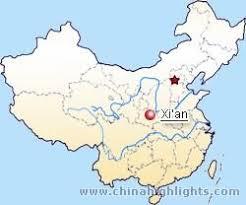 map of xi an xian map xian city map