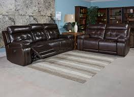 Powered Reclining Sofa Graford Power Reclining Sofa And Genuine Leather