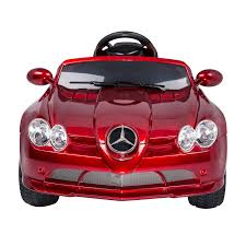 car mercedes red aosom kids mercedes benz cls electric ride on car red