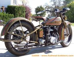 photo of 1930 harley vc 74ci flathead vintage motorcycle by al