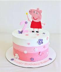 peppa pig birthday cakes peppa pig birthday cakes best 25 peppa pig cakes ideas on