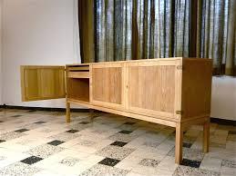 Teak Bar Cabinet Unknown Teak Bar Cabinet With Tambour Doors