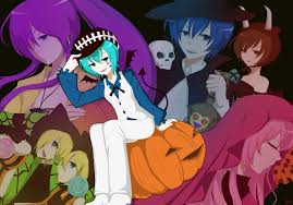 vocaloid halloween monster party night angie watanuki 02 08 13