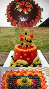 001037 cake decoration ideas with fruit decoration ideas for the