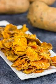 Cape Cod Russet Potato Chips - spicy baked sweet potato chips spiced