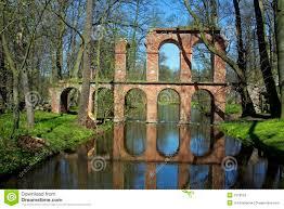 ruins of roman aqueduct stock photo image 2318550