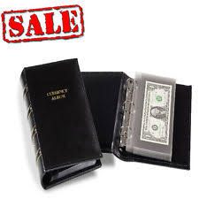 photo albums for sale lighthouse small bill album with 20 binder pages banknote sheets