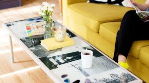 how to create a diy epoxy resin photo coffee table lensvid
