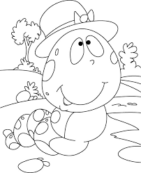 caterpillar ponder coloring pages download free