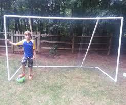 pvc soccer goal 10 u0027 x 6 u0027 x 4 5 u0027 4 steps with pictures