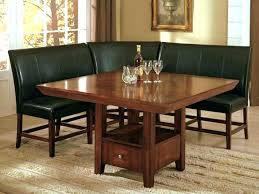 kitchen breakfast nook furniture breakfast table with storage murphysbutchers com