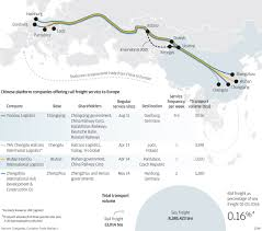 China Train Map by Silk Road Subsidies Undermine Rail Link South China Morning Post