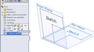 how to mirror a derived sketch