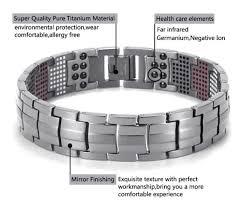titanium balance bracelet images Magnetic therapy bracelet healing balance power bracelet with 4 jpg