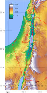 Negev Desert Map Geography Of Israel