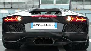 lamborghini aventador rev lamborghini aventador with sports exhaust rev limiter