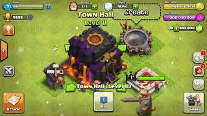 game coc sudah di mod clash of clans hack add unlimited coins gems elixir