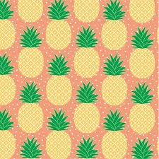 tropical wrapping paper pineapple wrapping paper