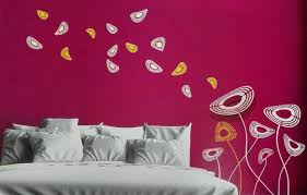 Wall Painting Stencils Designs - Asian paints wall design
