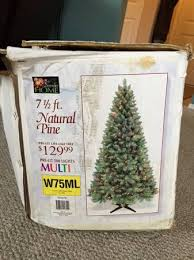 Natural Christmas Tree For Sale - best of craigslist awful 7 5 ft pre lit christmas tree