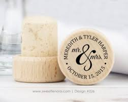 wine stopper wedding favor 150 personalized wine stoppers mr and mrs wine corks favors