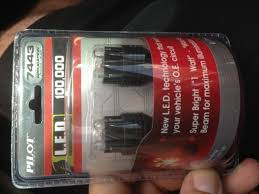 pep boys led lights led brake light bulbs affecting radio dimmer